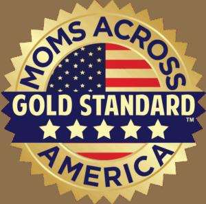 gold standrad pecsét